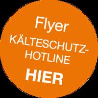 Kälteschutz-Hotline Flyer