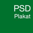 PSD Plakat